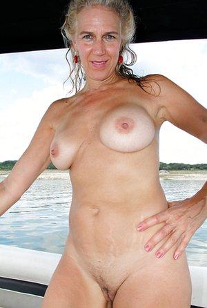 Milf in Boat Porn